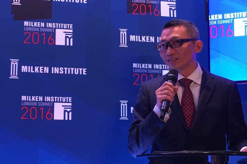 Tencent core founder Dr Charles Chen Yidan showcases world's largest international educational award to stakeholders in Europe